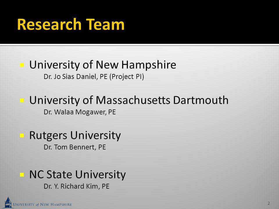  New Hampshire (NHDOT) - Lead Agency  Maryland (MDOT)  New Jersey (NJDOT)  New York (NYSDOT)  Pennsylvania (PennDOT)  Rhode Island (RIDOT)  Virginia (VDOT)  Federal Highway Administration (FHWA) 3
