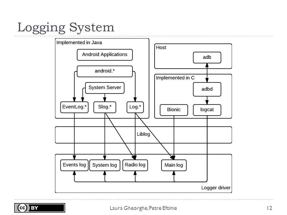 Laura Gheorghe, Petre Eftime Logging System 12