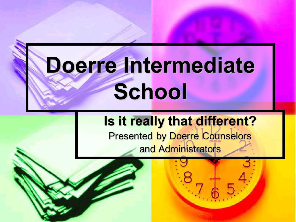 Doerre offers many new experiences Clubs Clubs Student Council Student Council Intramurals Intramurals Academic and Extracurricular Activities Academic and Extracurricular Activities