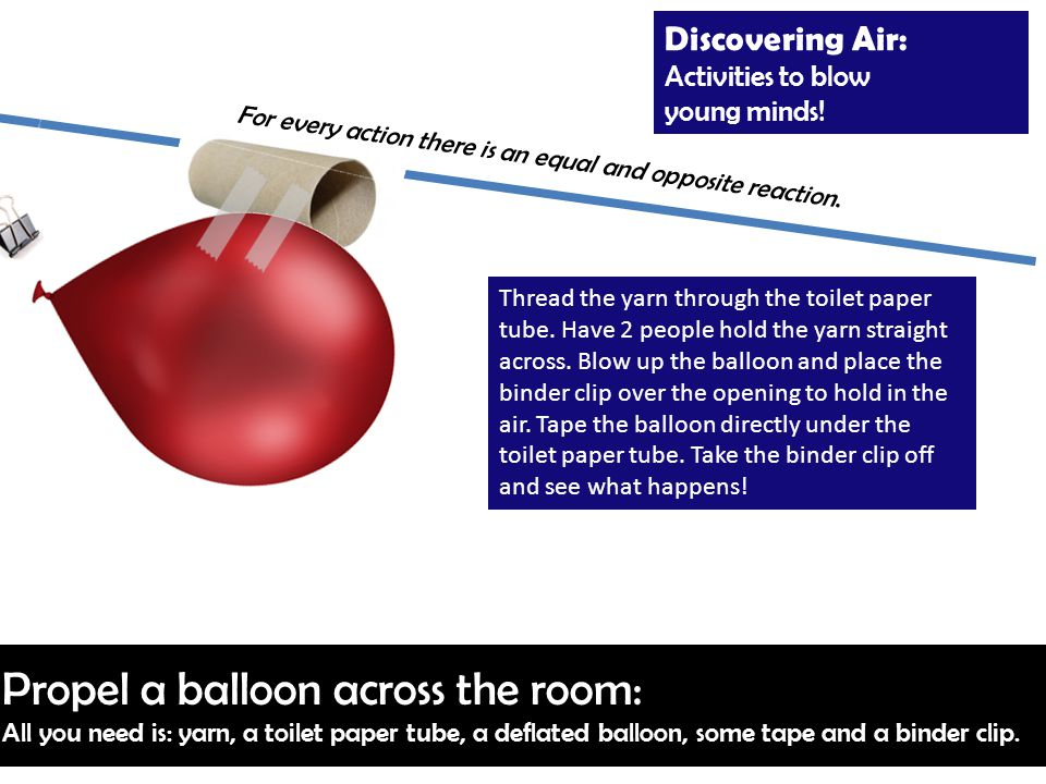 Discovering Air: Activities to blow young minds.