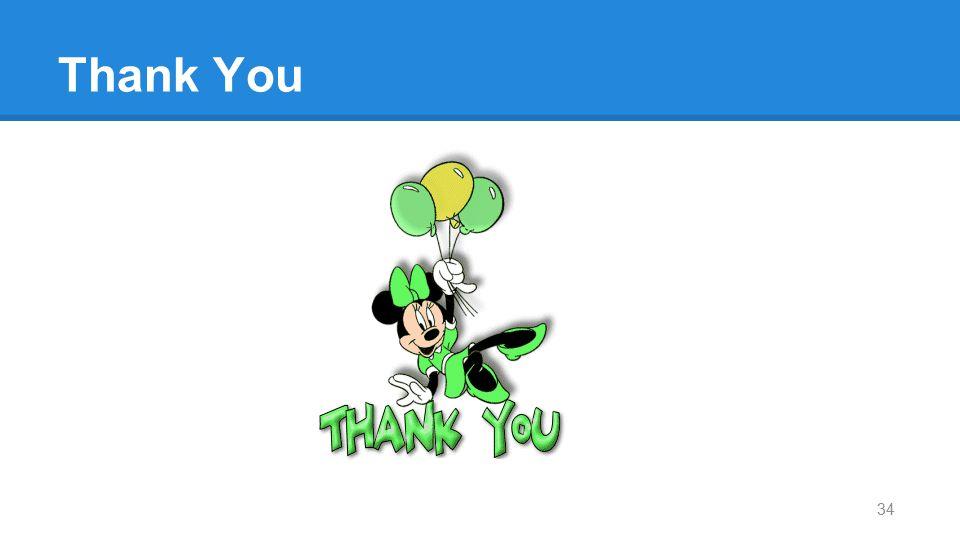 Thank You THANK YOU! 34