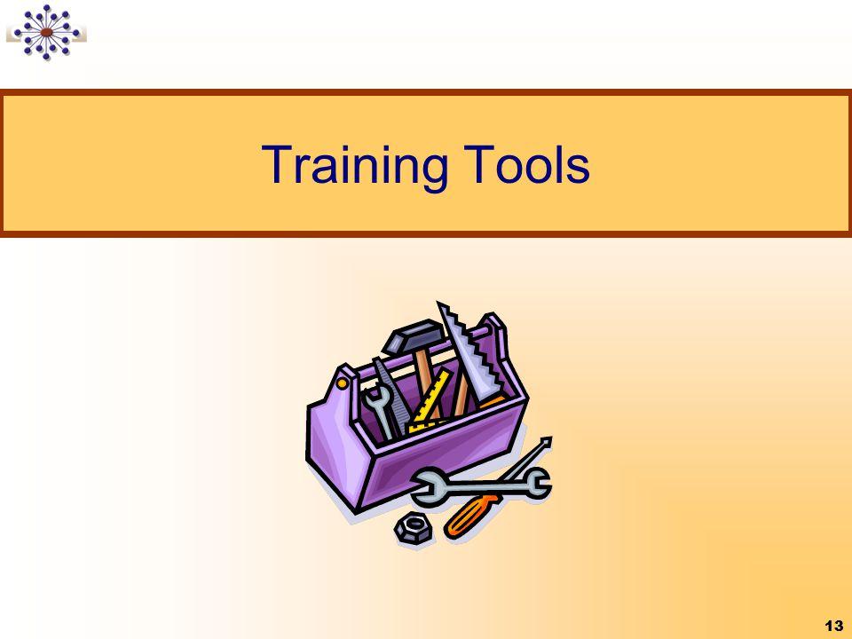 13 Training Tools 13