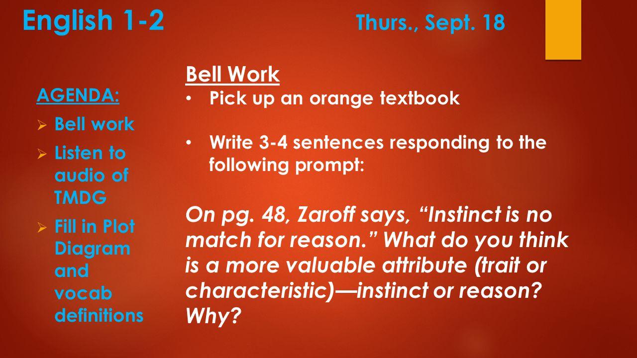 AVID Thursday, Sept.