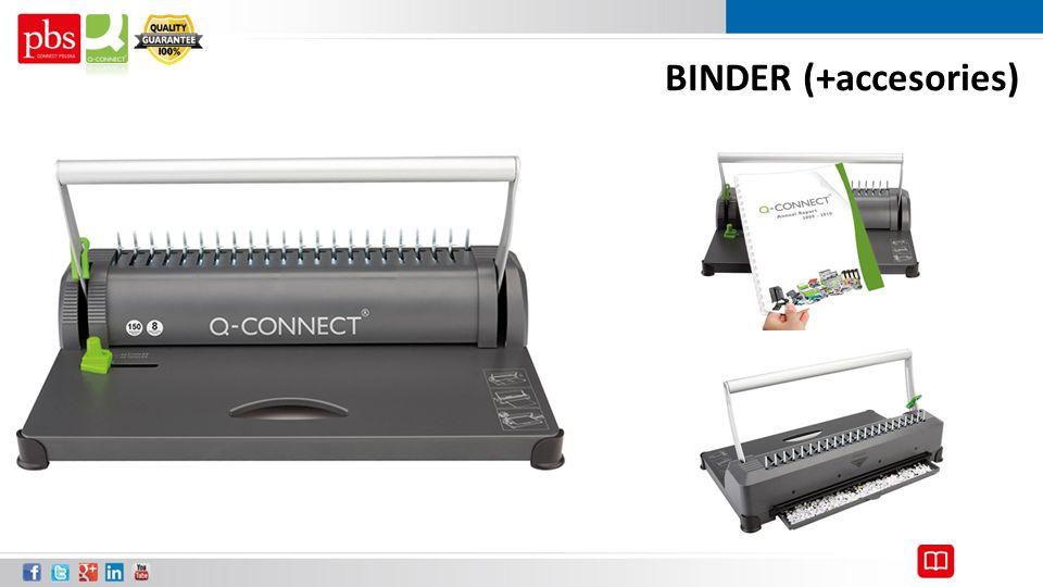 BINDER (+accesories)