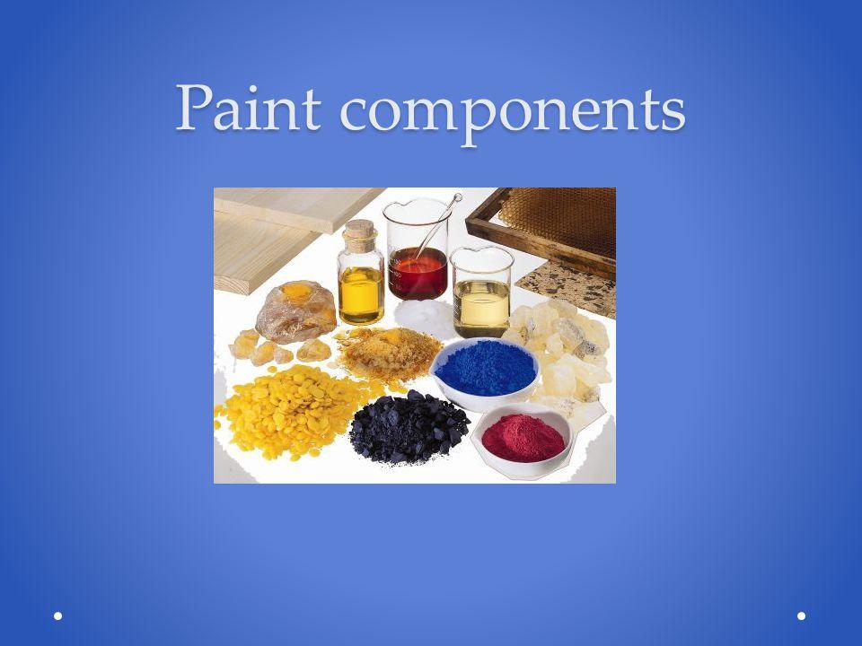 Paint components