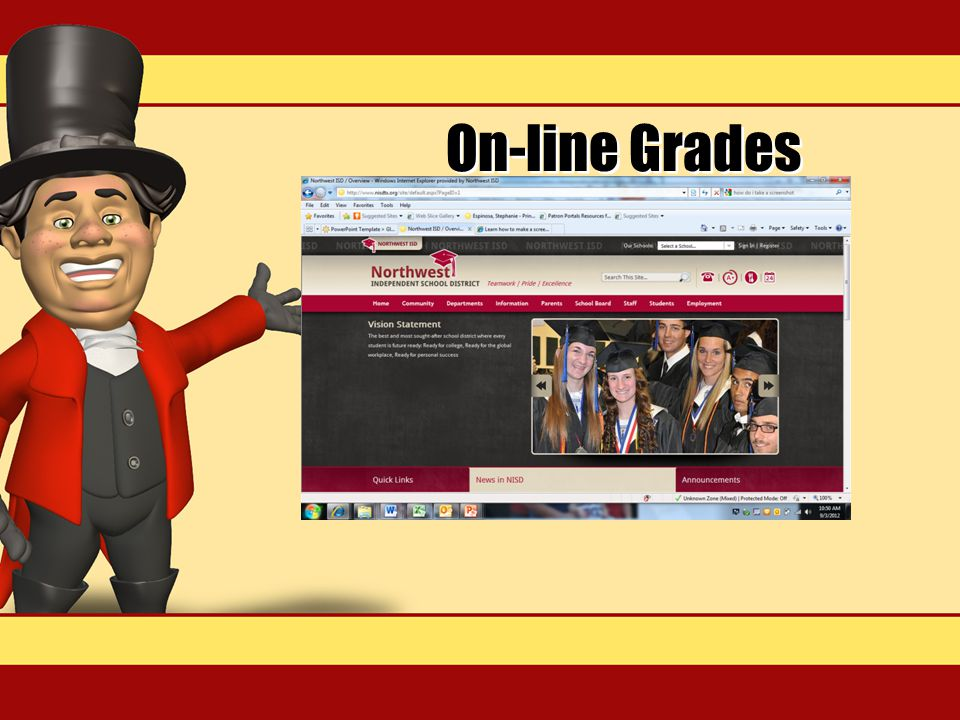 On-line Grades