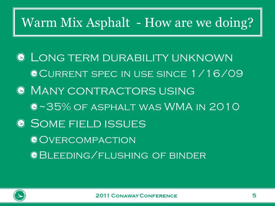 www.transportation.ohio.gov 6 Bleeding/Flushing of Binder 2011 Conaway Conference