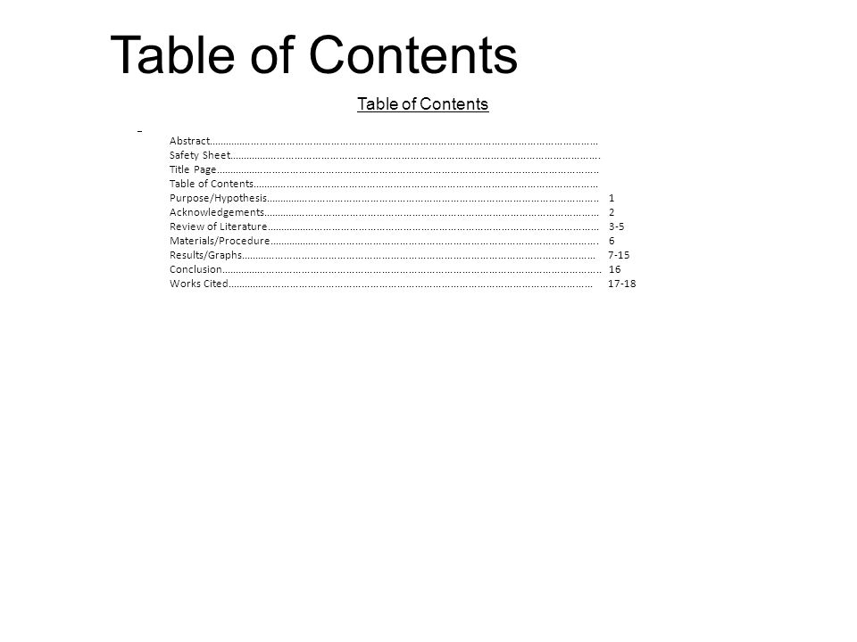 Table of Contents Abstract....................................................................................................................................