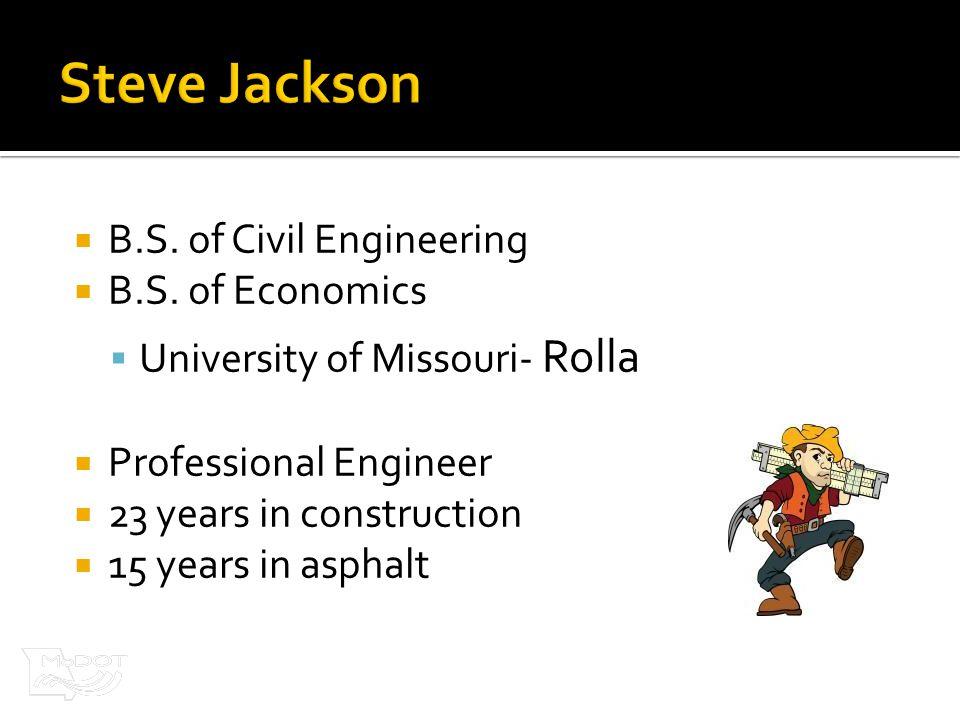 B.S. of Civil Engineering  B.S.