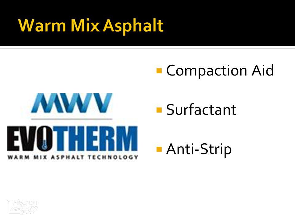  Compaction Aid  Surfactant  Anti-Strip