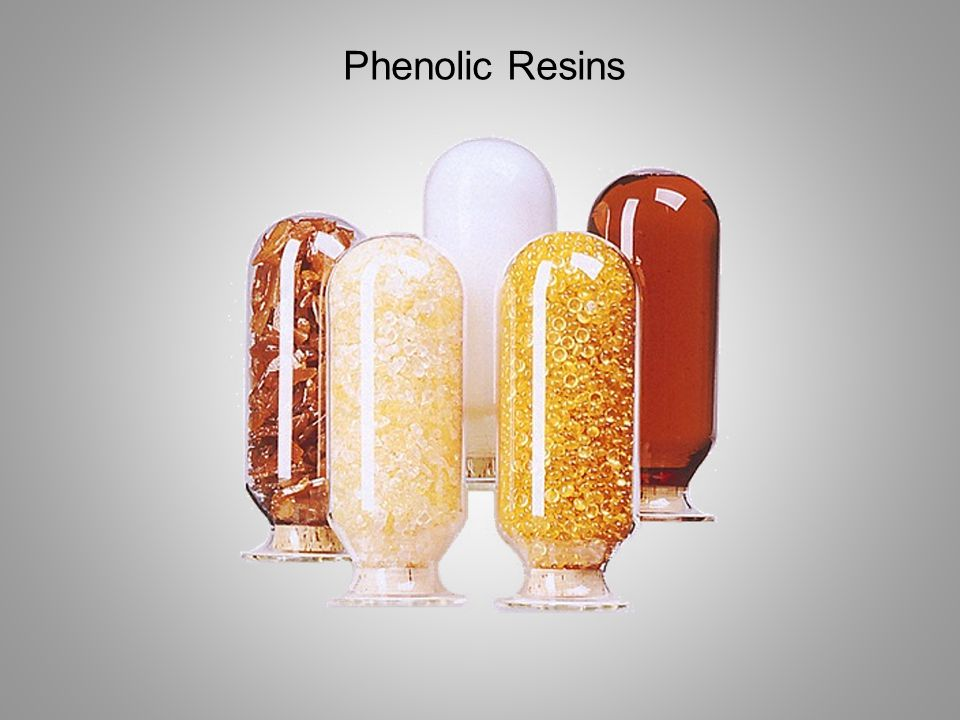 Phenolic resins are synthesized in a pressure vessel by repeatedly linking phenolic monomers with aldehyde chemicals Typically phenol and formaldehyde Cresol Cashew nutshell oil Furfural Process variations can result in a assortment of resin structures each demonstrating a wide range of properties Other phenols include Another aldehyde used
