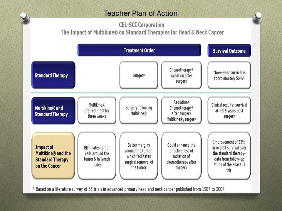 Teacher Plan of Action
