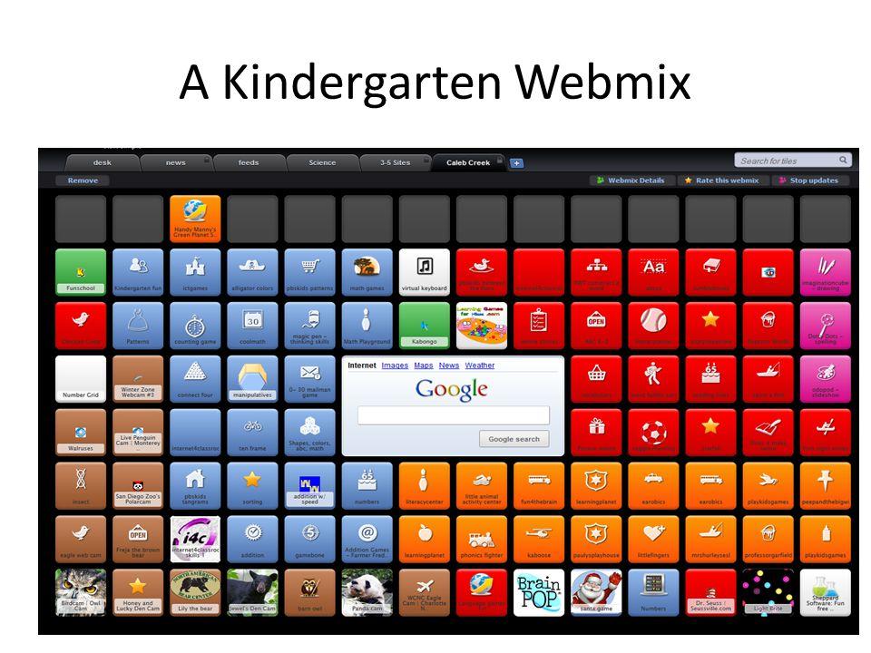 A Kindergarten Webmix