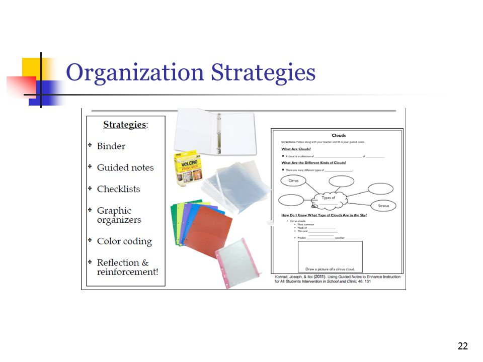 Organization Strategies 22