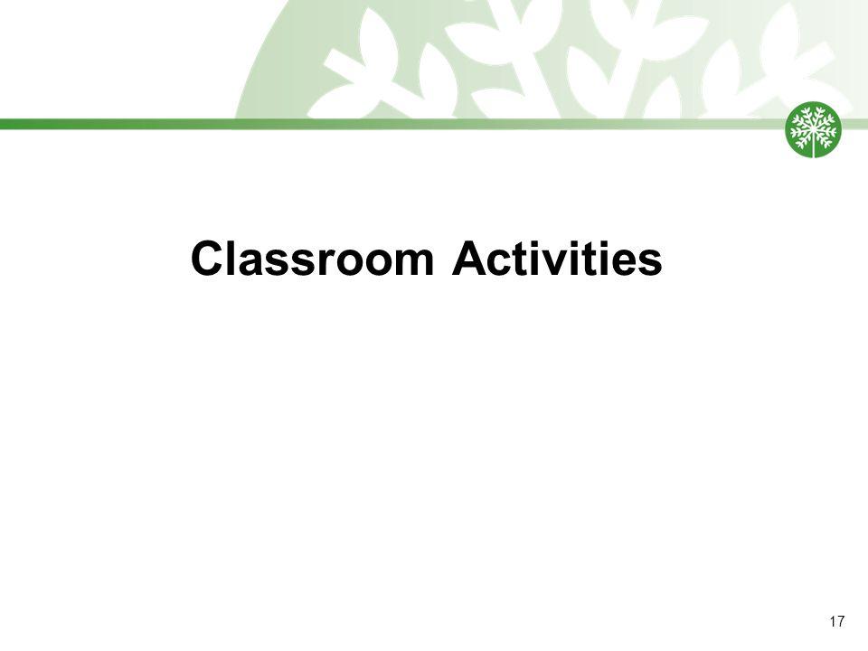 Classroom Activities 17