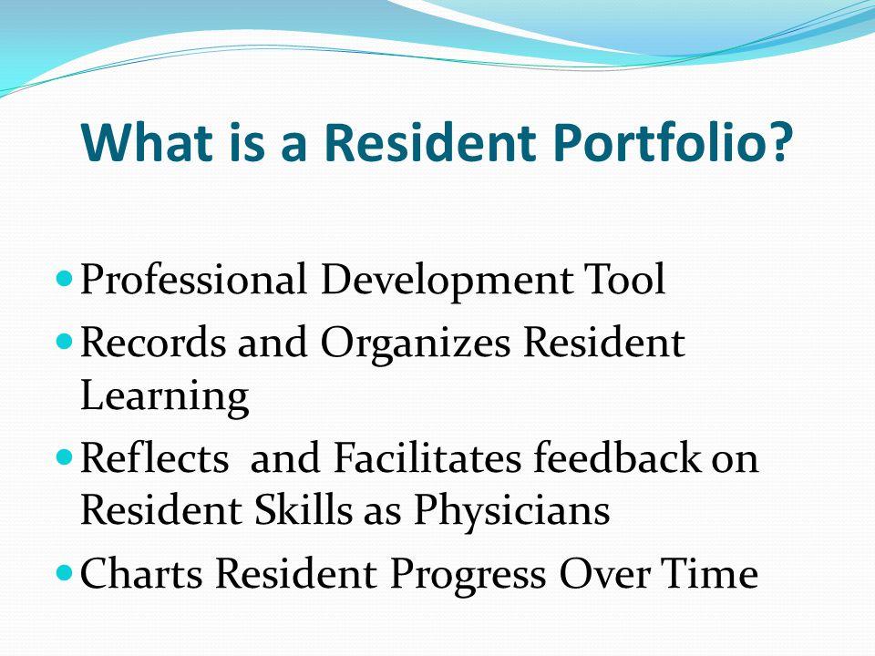 1) Work Portfolios 2) Performance Portfolios 3) Career Portfolios