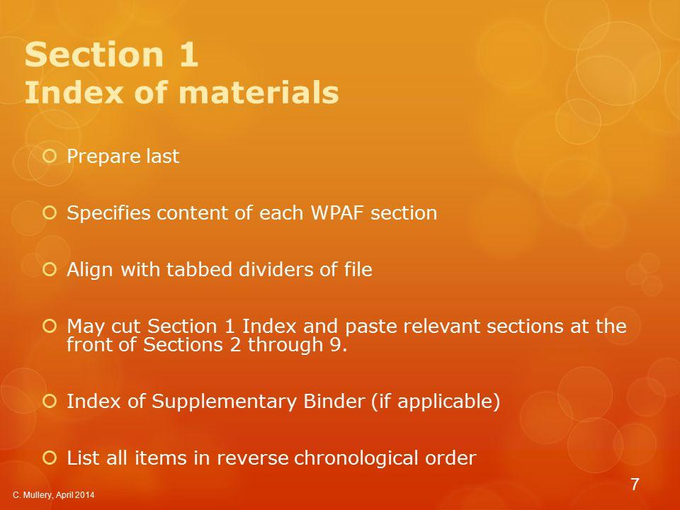 Supplementary Binder Appendix J, Section VII.B.2.b.