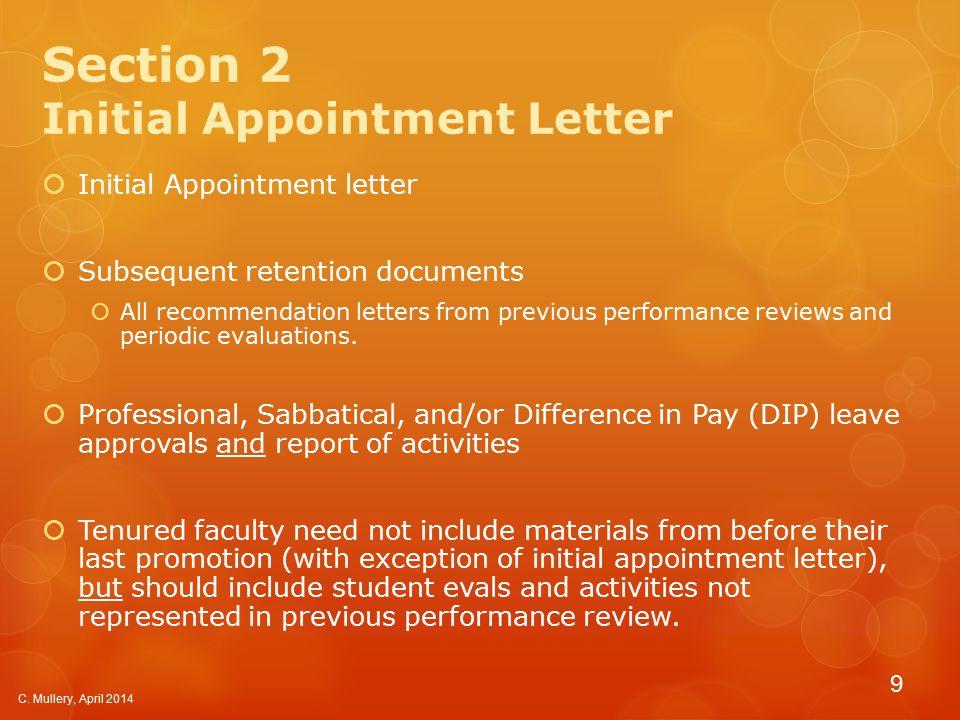 Section 3 Policies, Procedures, etc.
