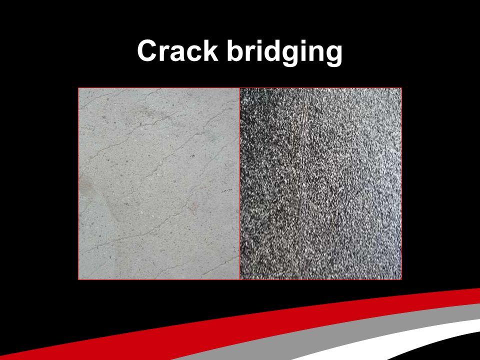 Crack bridging
