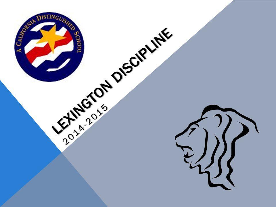 LEXINGTON DISCIPLINE 2014-2015