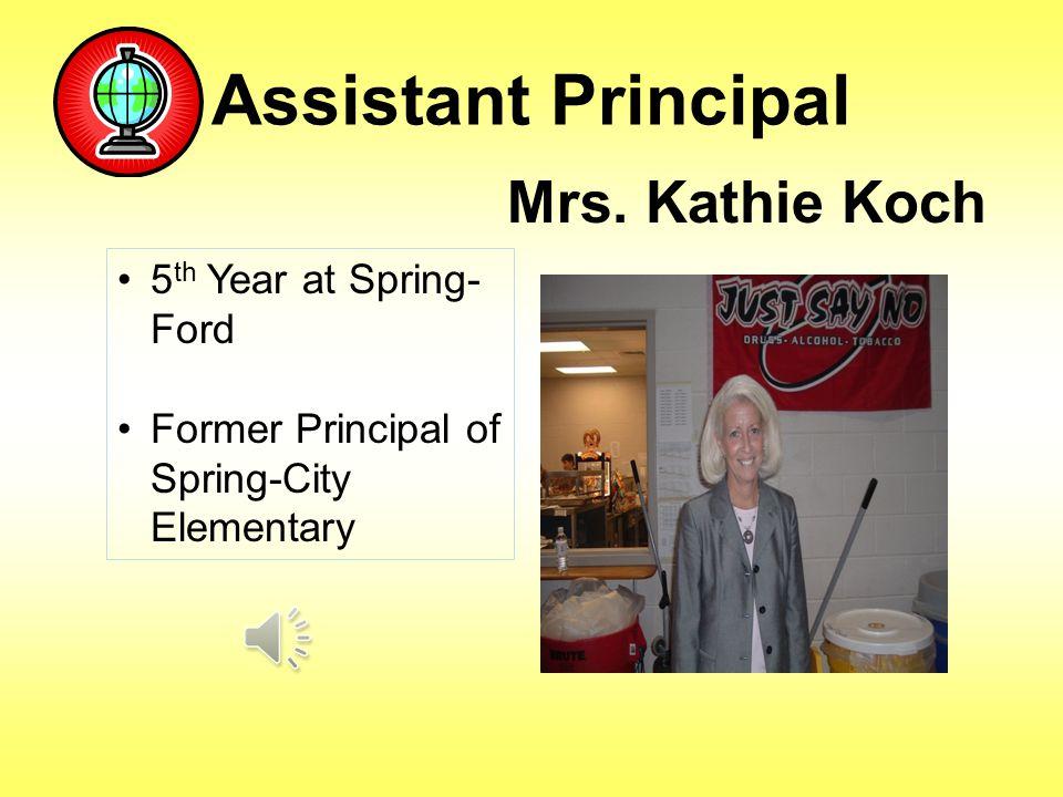 Assistant Principal Mrs.