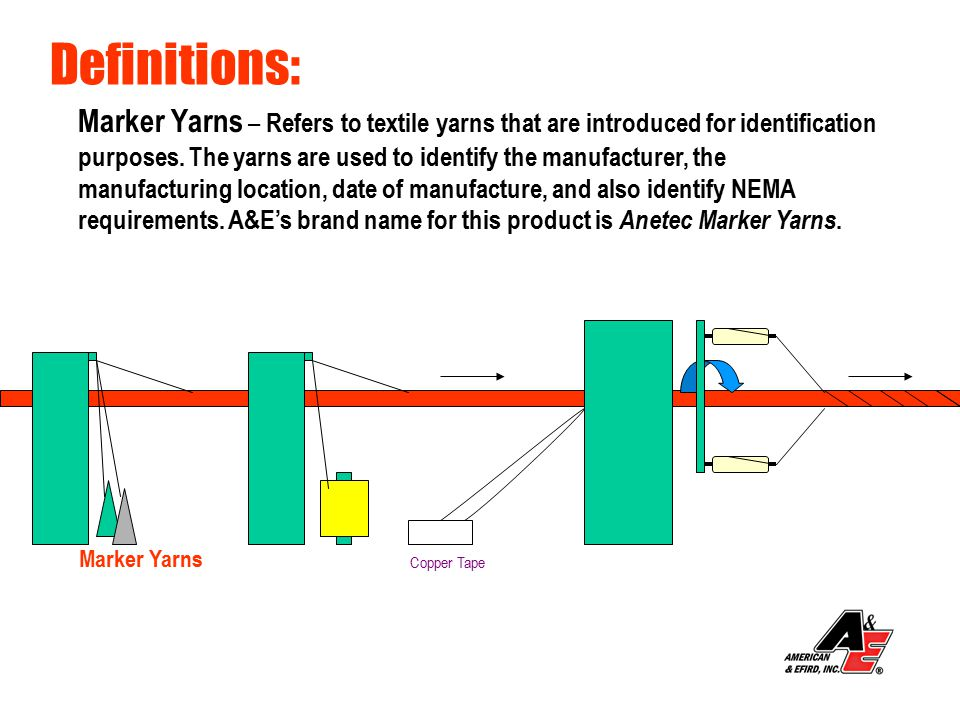 FeaturesBenefits Increased Yield Per Tube- Fewer Machine Stoppages due to more yarn per package - More Production Output - Higher Profits Non-wick Finish- Helps prevent moisture migration Water Swelled Finish- Better Protection Against Leaks - Dryer Cable - Better signal