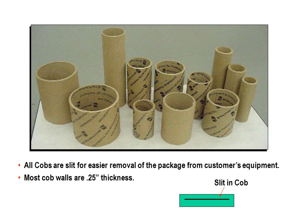 Package Constructions Bombs Cones Tubes Spools Cob Braider Tubes ConeBomb Cones Tube Cob Spool Cob