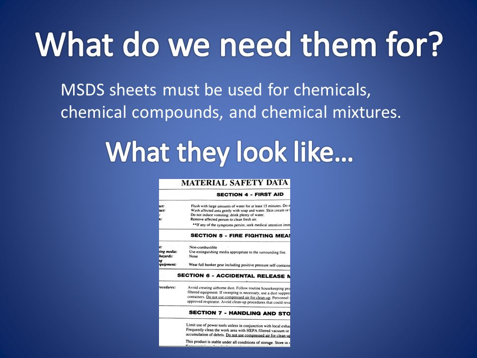 http://www.msds.com/ Here… follow this link to get access to a really helpful site!!.
