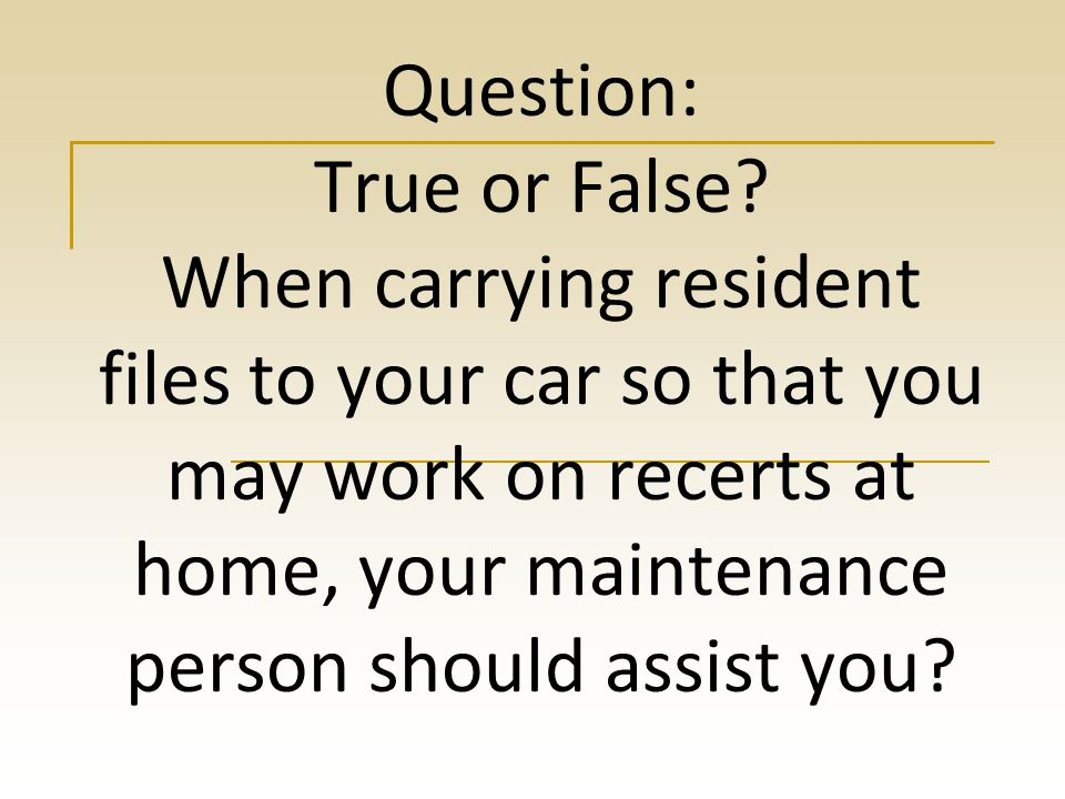 Answer d) False (All discrepancies must be recorded along with their resolution in the discrepancy logs.)