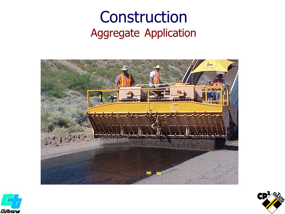 Construction Aggregate Application
