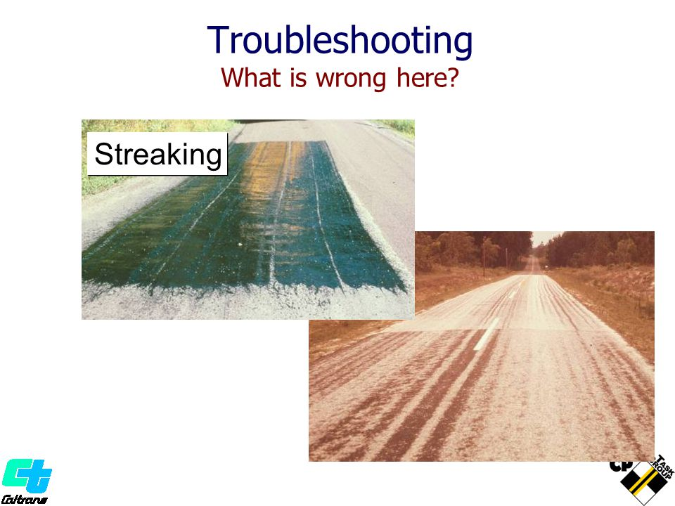 Troubleshooting What is wrong here? Streaking