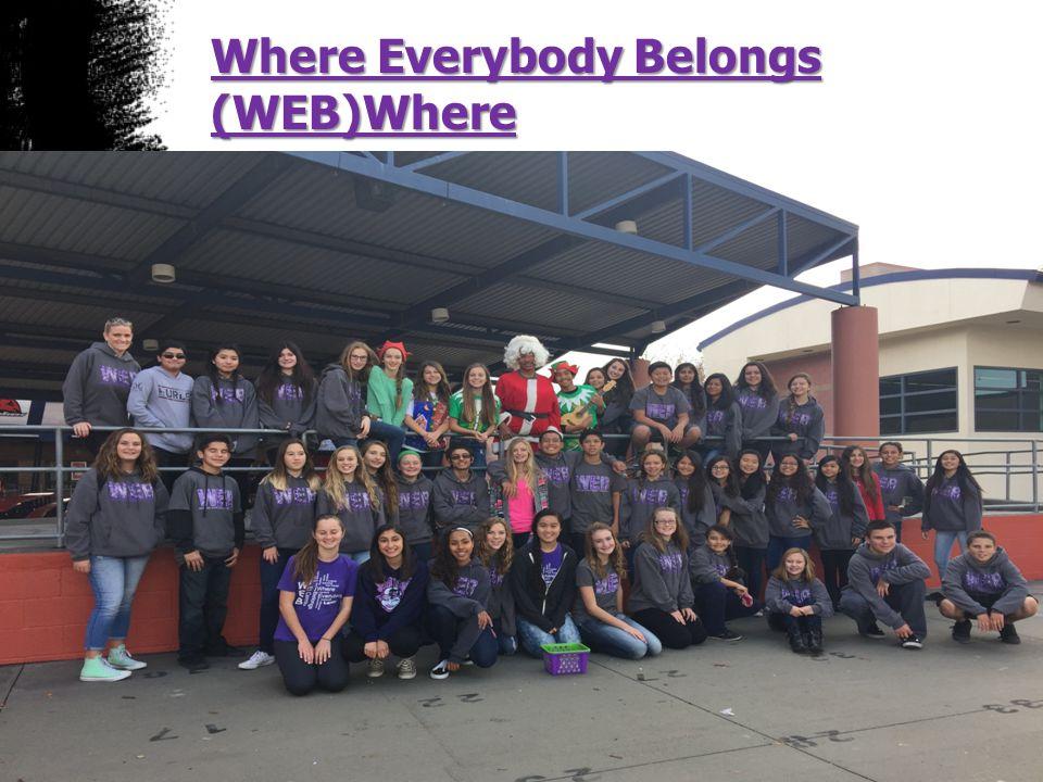 Where Everybody Belongs (WEB)Where.