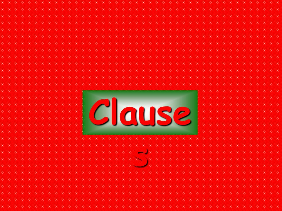 Clause s