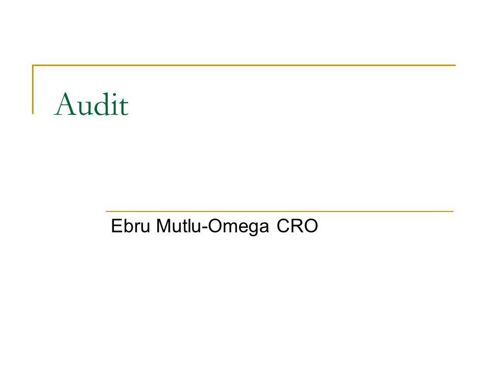 Audit Ebru Mutlu-Omega CRO