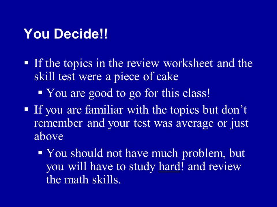 You Decide!.