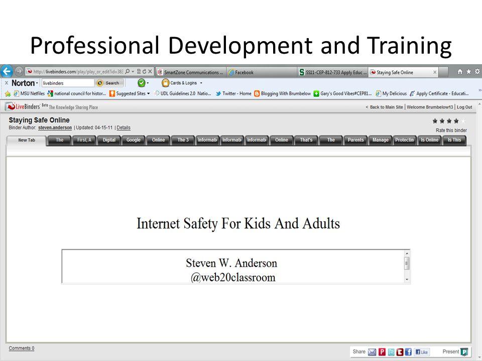 Professional Teaching Portfolio for Employment