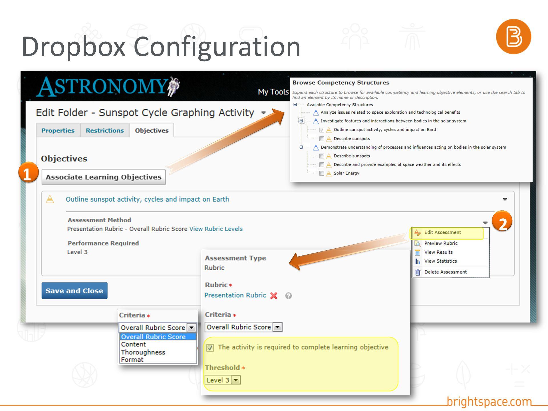 Dropbox Configuration 1 2