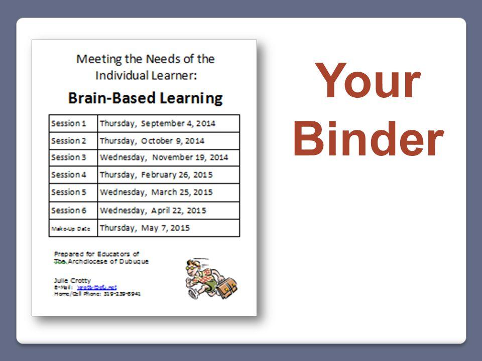 Your Binder