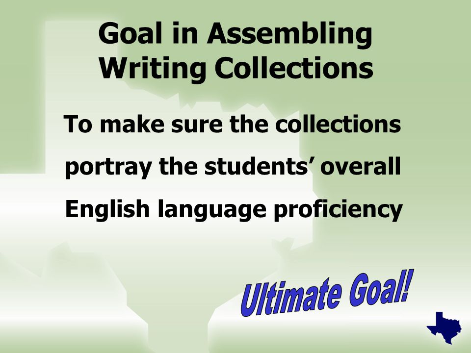 14 Beginning Level  The ELPS require ELLs of all proficiency levels to learn to write in English.