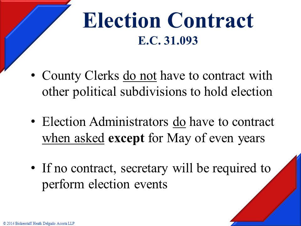 Election Contract E.C.
