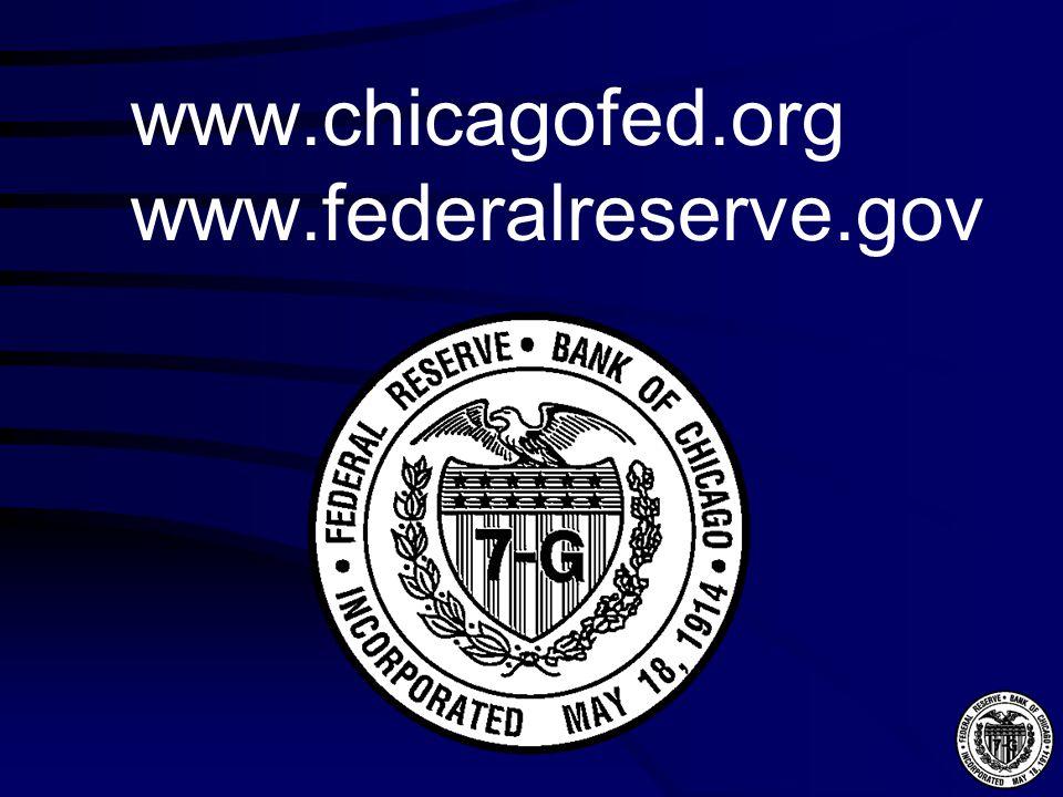 www.chicagofed.org www.federalreserve.gov