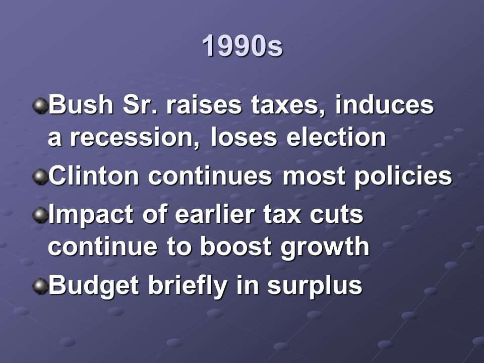 1990s Bush Sr.