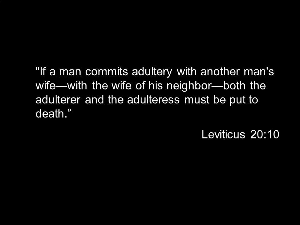 Leviticus 20:10