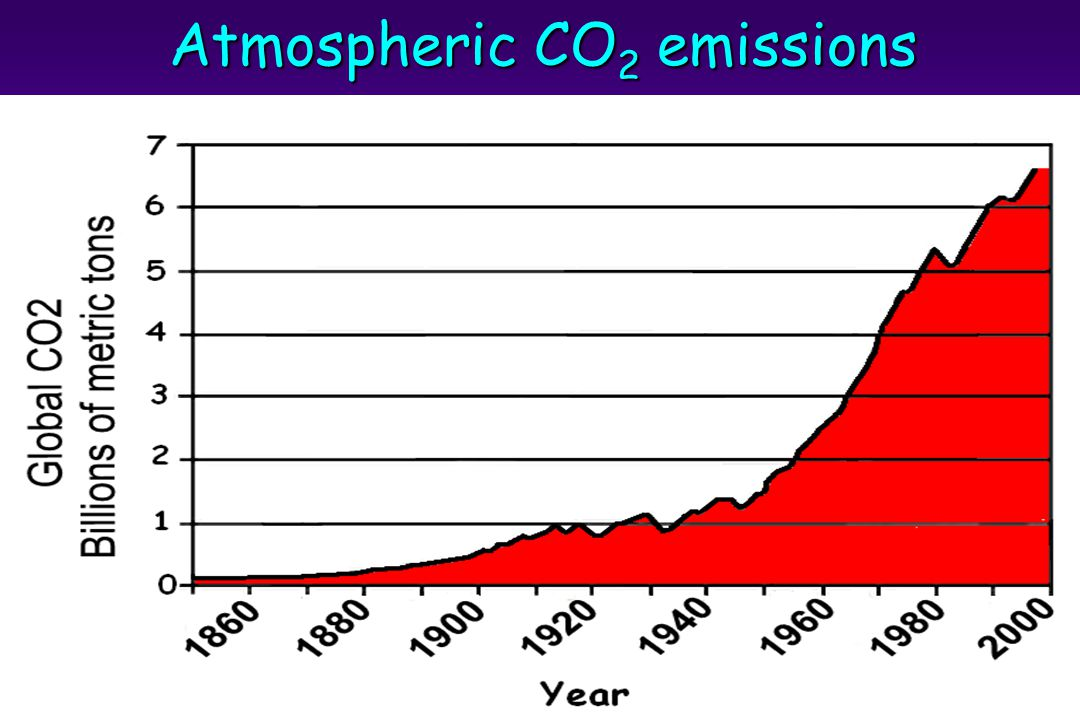 Atmospheric CO 2 emissions