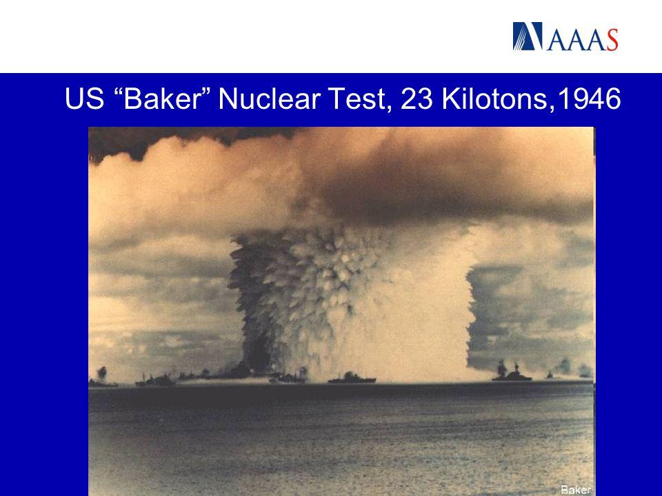 "US ""Baker"" Nuclear Test, 23 Kilotons,1946"