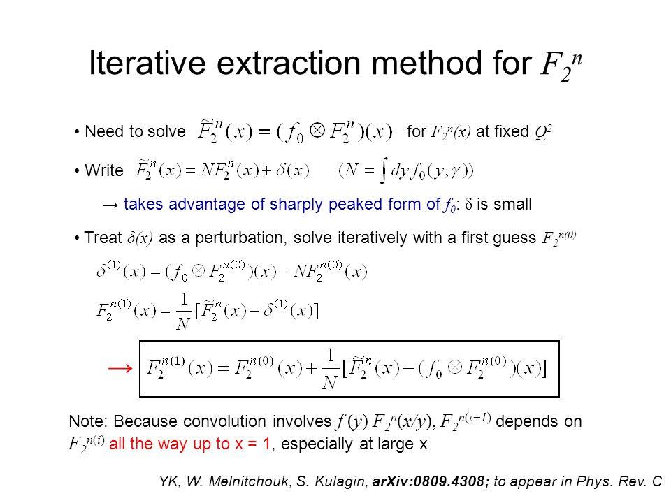xg 1 n extraction from CLAS deuteron data Data: S. Kuhn, N. Guler