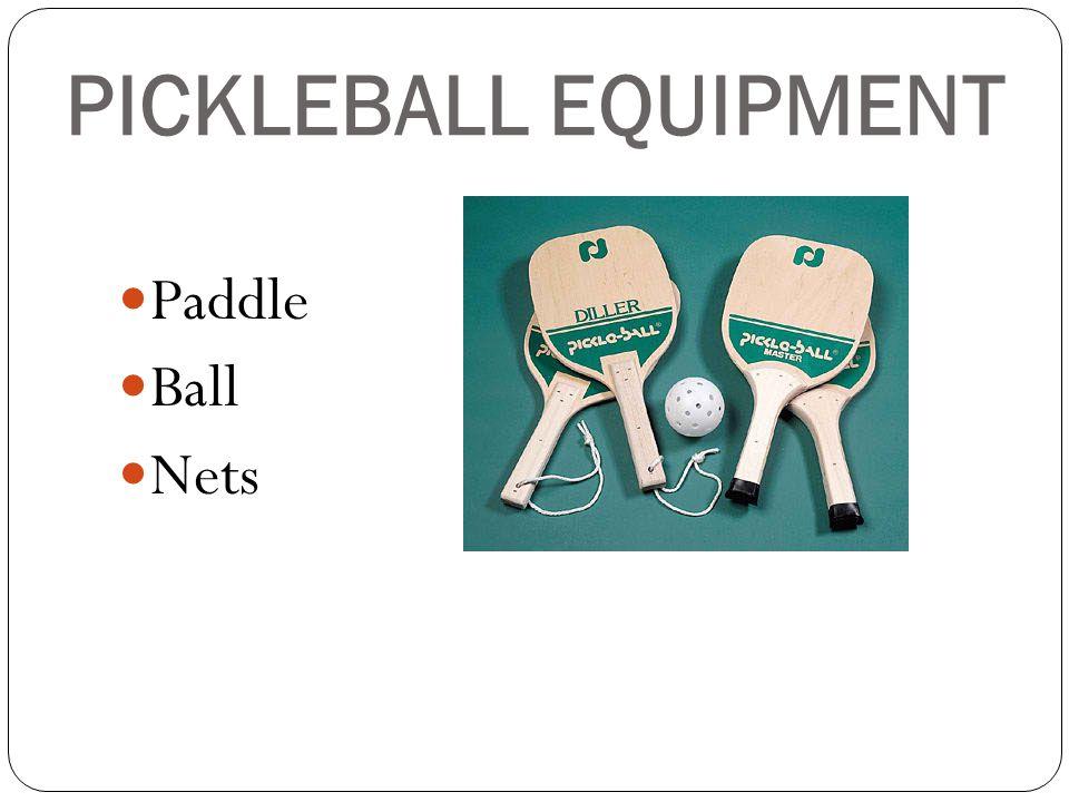 PICKLEBALL EQUIPMENT Paddle Ball Nets