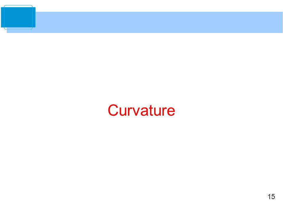 15 Curvature
