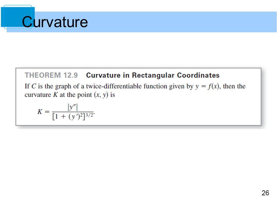 26 Curvature
