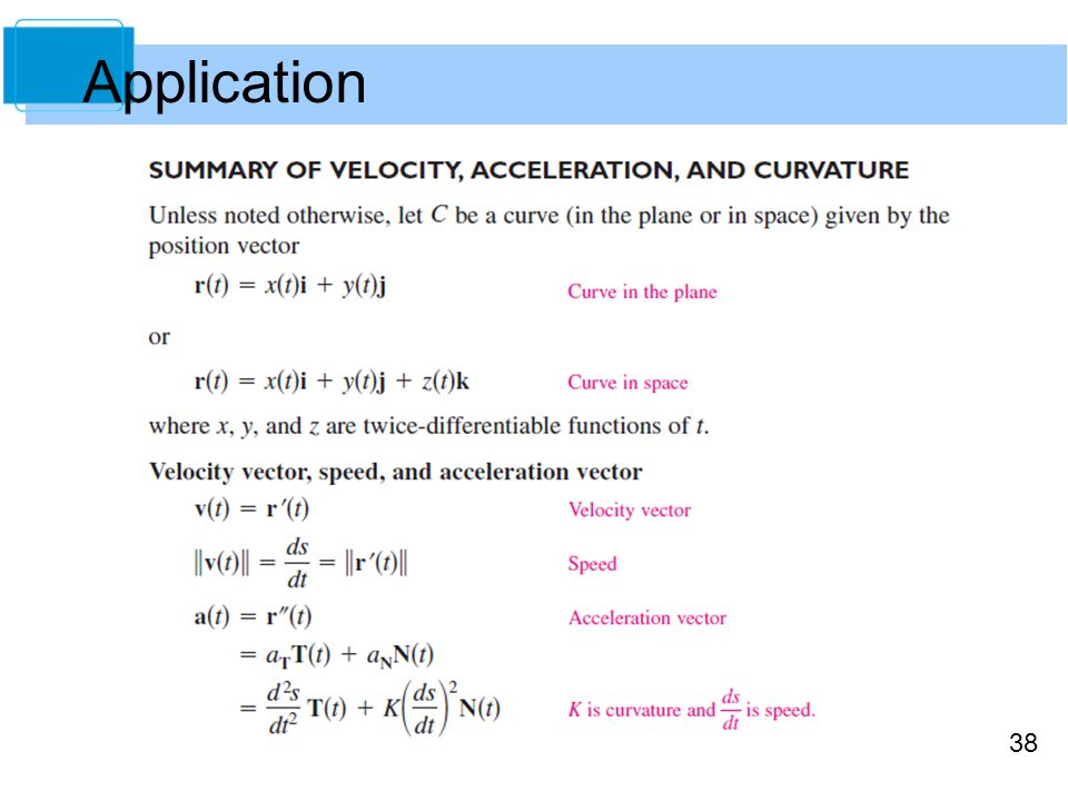38 Application